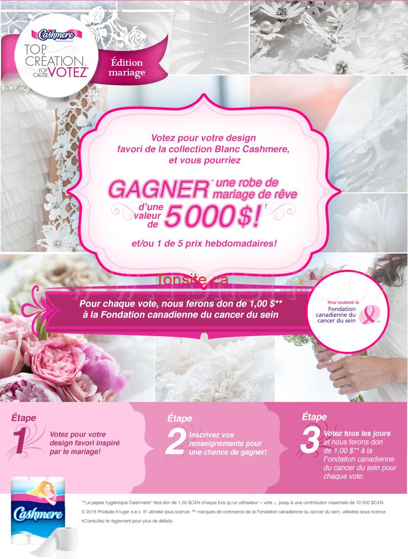 Concours Cashmere Gagnez Une Carte Cadeau La Baie D