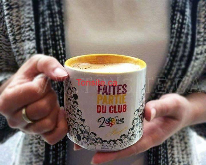 Concours Couche-Tard: Gagnez une tasse du club des petits déjeuners de la couleur de votre choix!