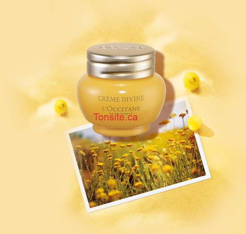 GRATUIT: Obtenez un échantillon gratuit de Crème Divine L'Occitane