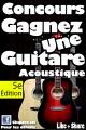 Concours Musique Dépôt: Gagnez une guitare acoustique Madera (choix de 7 couleurs)!