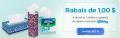 Coupon rabais de 1$ sur 3 boîtes ou sur n'importe quel emballage de mouchoirs Kleenex (format d'essaie non inclus)