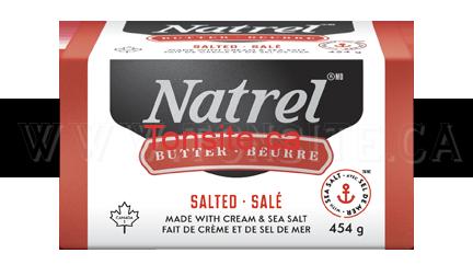 Beurre Natrel à 2.24$ au lieu de 4.49$
