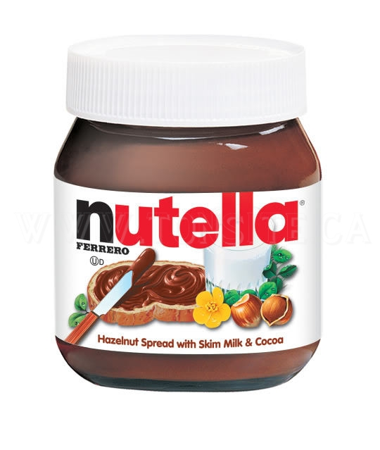 Tartinade noisette chocolat Nutella à 2$ seulement!