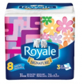 8 Paquets de papier mouchoirs Royale Signature 1,99$ au lieu de 6,49$