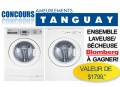 Concours Ameublement Tanguay: Gagnez ensemble laveuse/sécheuse Blomberg (valeur de 1799,99$)