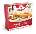 Coupon rabais de 1$ sur un emballage de burger de poulet pané sans gluten 600g Flamingo (ou d'un emballage de burger de poulet pané 680g)