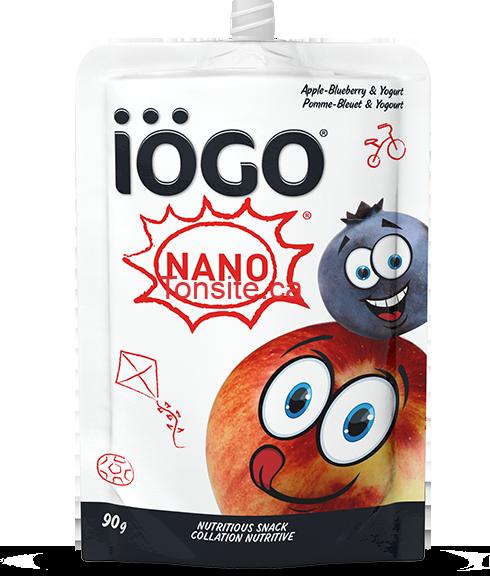 produit Nano de iögo en pochette (4x90g) au lieu de 3,99$