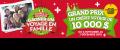 Concours Tigre Géant: Gagnez un crédit voyage de 10.000$ ou 1 des 70 cartes-cadeaux de 100$