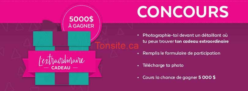 Concours Centre Eaton de Montréal: Gagnez une carte cadeau du Centre Eaton de Montréal de 5000$