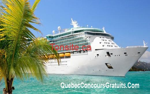 Concours Concoursplus: Gagnez une croisière de 4000$ dans les caraïbes