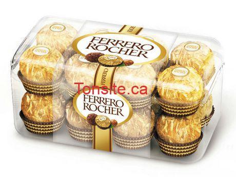 Chocolat Ferroro Rocher à 3.74$ seulement!