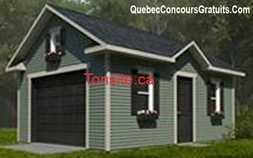Concours Concoursplus: Gagnez un garage de 16000$