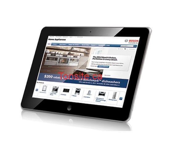 Concours Bosch-home: Gagnez une tablette apple iPad