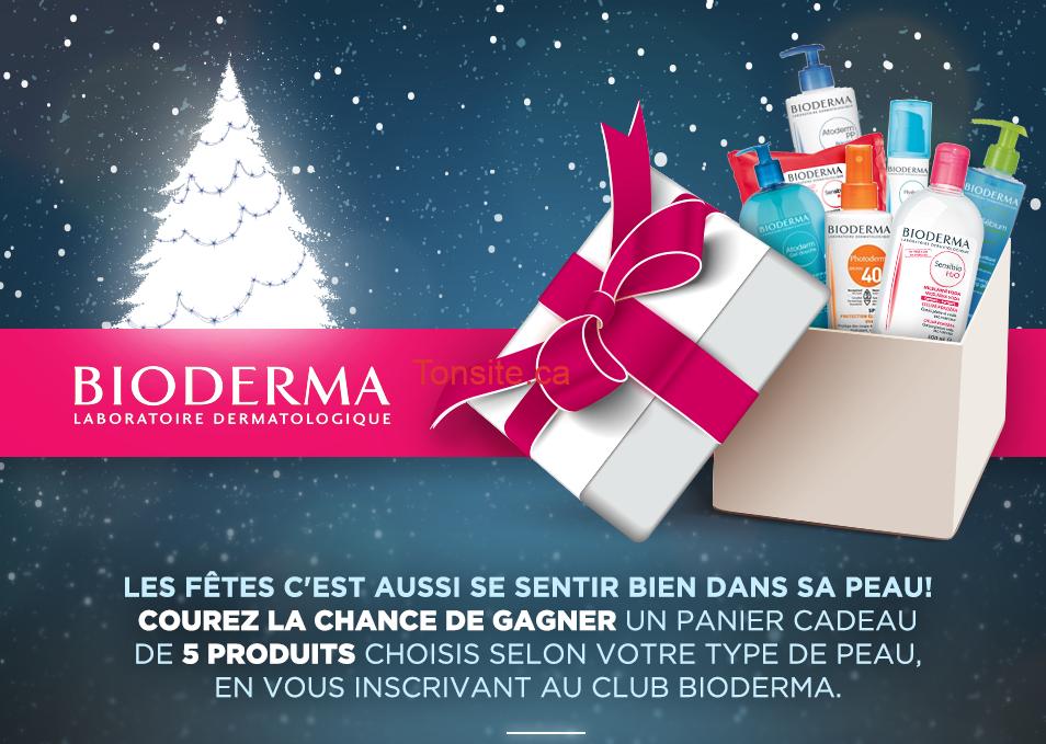 Concours Bioderma: Gagnez 1 des 3 paniers-cadeaux de 5 produits pour la peau Bioderma de votre choix!