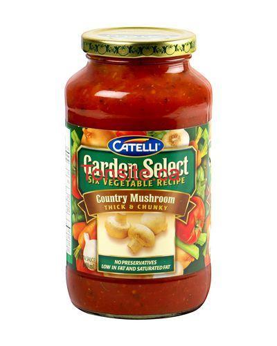 Sauce pour pâtes Catelli Selection du Jardin à 1.50$ au lieu de 2.97$