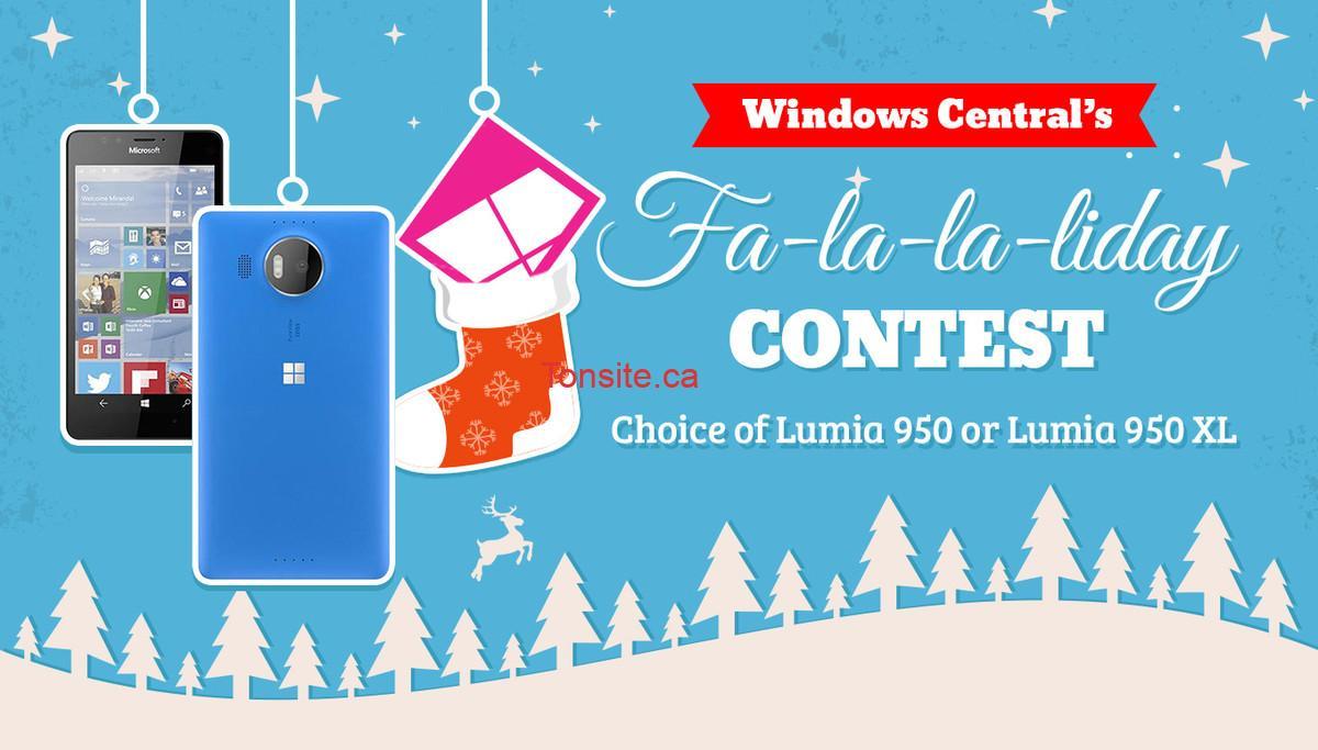 Concours Windows Central: Gagnez un smartphone lumia 950 ou lumia 950 xl
