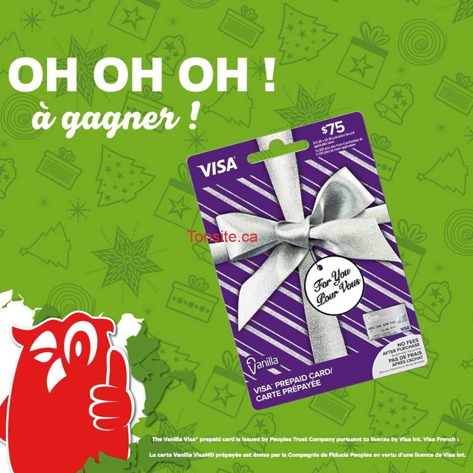 Concours Couche-Tard: Gagnez une carte-cadeau prépayée Visa de 75$