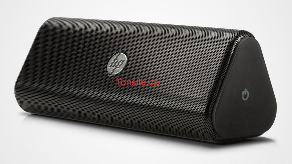 Concours Canoe : Gagnez un haut-parleur sans fil HP d'une valeur de 219$