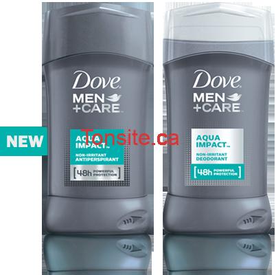 Obtenez un déodorant Dove Men+Care GRATUITEMENT!