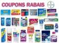 Nouveaux coupons rabais Bayer