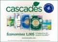 Coupon rabais de 1$ sur un produit Cascades