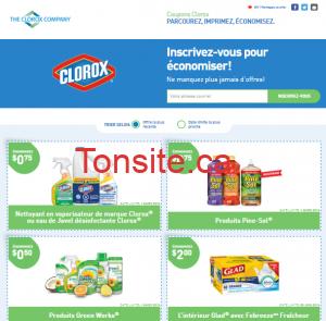 clorox e1453596606586 - Sites internet pour obtenir des coupons rabais au Québec