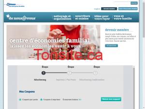 denousavous e1453597605719 - Sites internet pour obtenir des coupons rabais au Québec