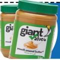 Coupon rabais de 1$ sur un pot de beurre d'arachides Giant Value (1kg)