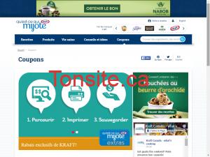 kraft e1453598543444 - Sites internet pour obtenir des coupons rabais au Québec