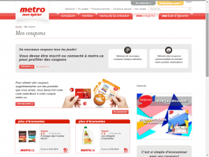 metro e1453598687823 - Sites internet pour obtenir des coupons rabais au Québec