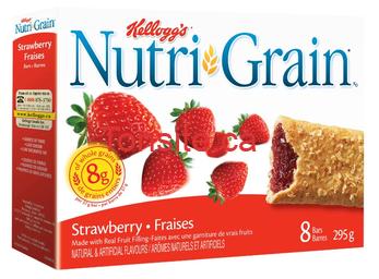 Barres Nutri Grain de Kellogg's à 88¢ au lieu de 2,97$