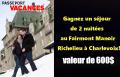 Concours Passeport POM: Gagnez un séjour de 2 nuitées au Fairmont Le Manoir Richelieu (valeur de 600$)