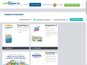 websaver screenshot e1453918094442 - Sites internet pour obtenir des coupons rabais au Québec
