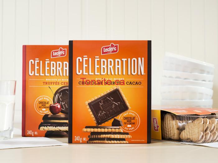 Photo of Biscuits Célébration Leclerc à 1.66$ seulement ( sans coupon)