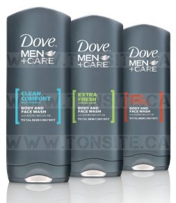 Gel douche Dove Men+Care à 1,48$ au lieu de 4,99$