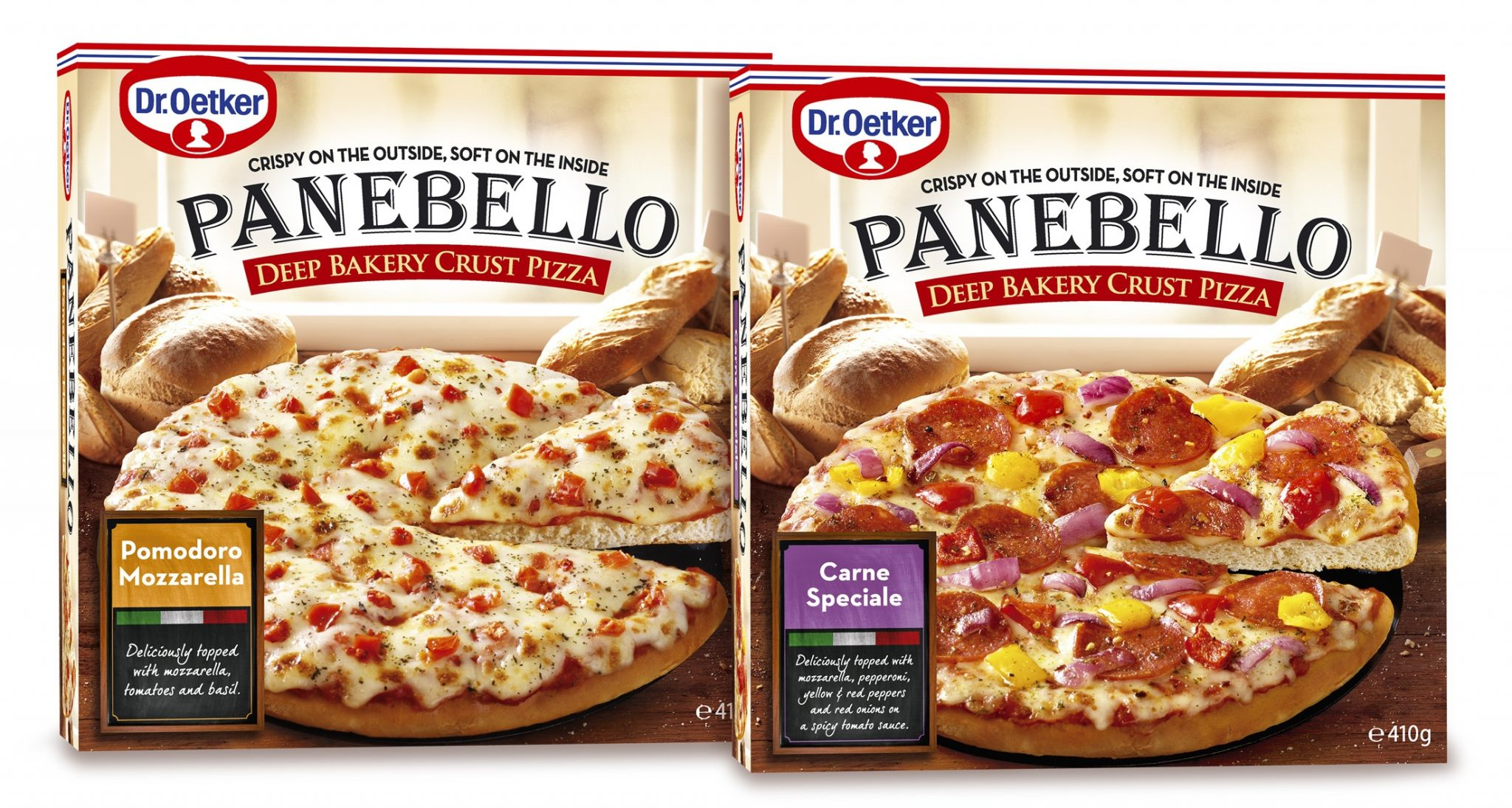 Pizza surgelée Panebello Dr Oetker à 1,98$ au lieu de 5,99$