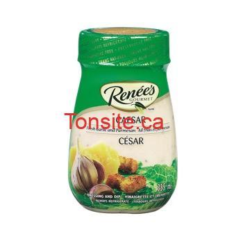 renees - Coupon rabais de 1,50$ sur une vinaigrette Renée's Gourmet en format de 350 mL ou 355 mL (toute variété)