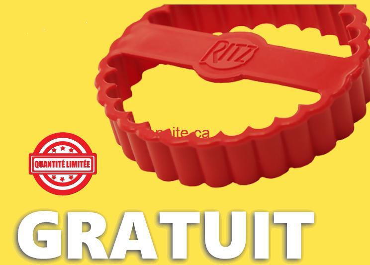 GRATUIT: Obtenez un Ritz Cracker Cutter GRATUIT!