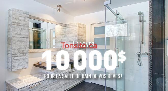 Gagnez 10000$ pour la salle de bain de vos rêves !
