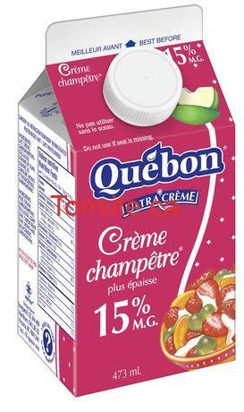 Crème Québon Ultra Crème à 77¢ seulement!