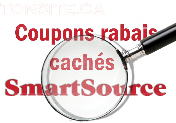 Coupons rabais cachés Smartsource