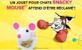 Obtenez un jouet pour chats Snacky Mouse GRATUITEMENT (après achat)