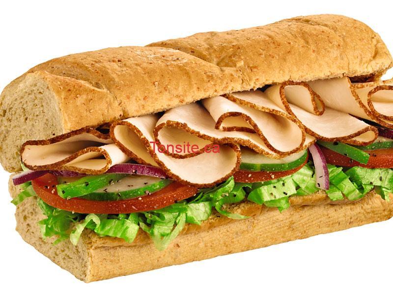 GRATUIT: Obtenez un sandwich de 6 pouces gratuit chez Subway