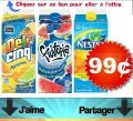 Les boissons Nestea, Fruitopia ou Déli-Cinq de 1,75L à 99¢ seulement