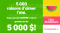 Concours Pharmaprix: Gagnez 1 des 3 grand prix de 5000$