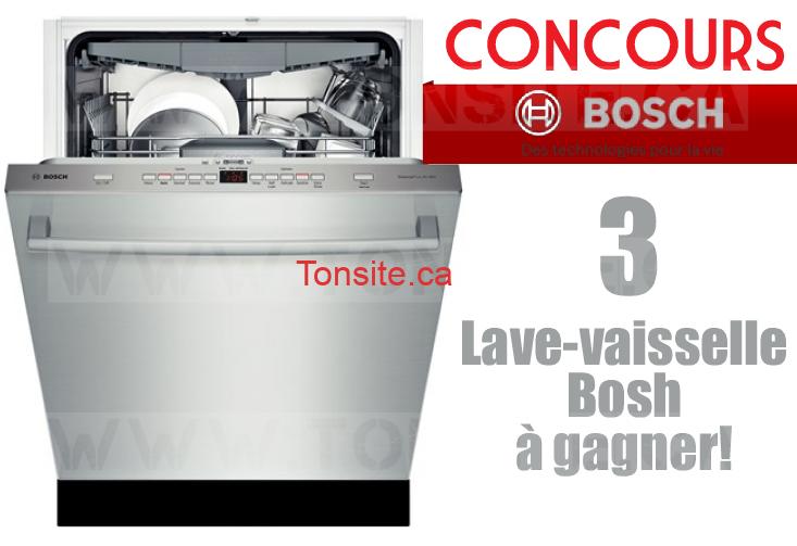 concours bosch gagnez 1 des 3 lave vaisselle bosh valeur de 2049. Black Bedroom Furniture Sets. Home Design Ideas