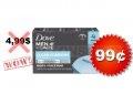 Emballage de 4 pains de savon Dove Men+Care à 99¢ au lieu de 4,99$