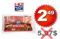 Bacon Maple Leaf à 2,49$ au lieu de 5,97$