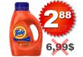 Détergent à lessive Tide à 2,88$ au lieu de 6,99$