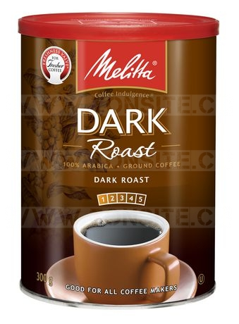Café moulu de Melitta (torréfaction corsée) à 77¢ au lieu de 6.47$